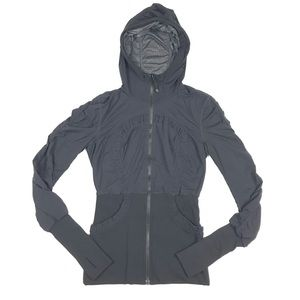 Lululemon Black Hoodie Womens Full Zip Jacket